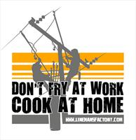"""Don't Fry at Work, Cook at Home"" Cooking Apron"