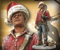 Christmas Lineman Sculpture