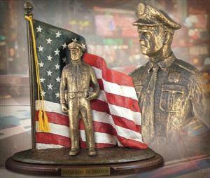 Defenders of Freedom: Law & Order – Bronzetone Sculpture