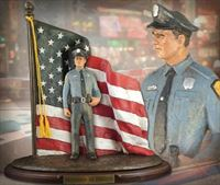 Defenders of Freedom: Law & Order – Handpainted Sculpture