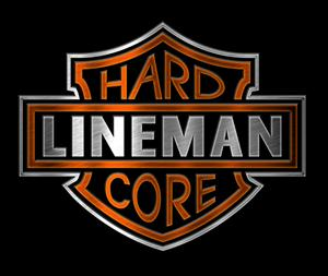 """Hard Core"" Lineman T-Shirt"