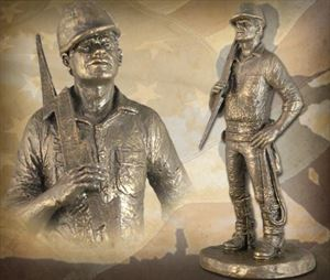 """""""High Voltage"""" Bronzetone Sculpture"""