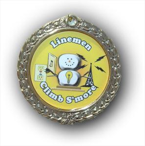 """Lineman Climb S'more"" Hanging Ornament"