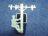 Stainless Steel Lineman Hitch Cover