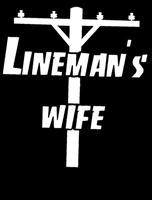 """Lineman's Wife"" Window Decal"