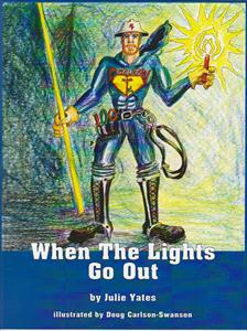 """When the Lights Go Out"" Children's Book by Julie Yates"