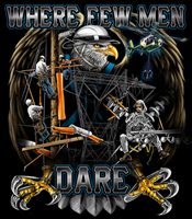 """Where Few Men Dare"" T-Shirt"