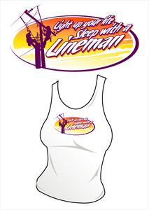 """Light Up Your Life"" Ladies Tank or Scoop Neck Shirt"