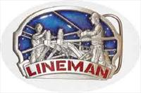Lineman Belt Buckle